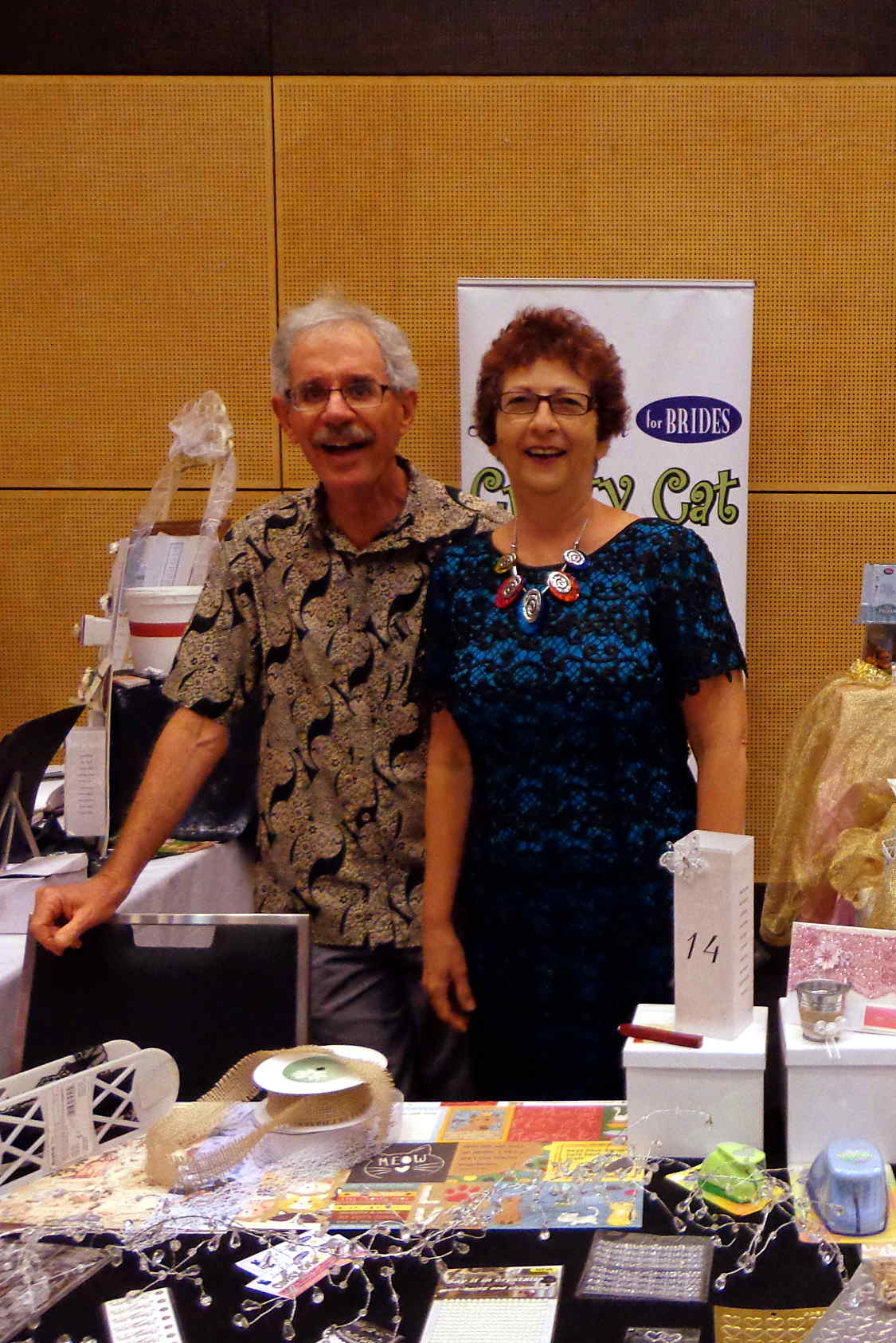 Jon and Lucy Dillon at the 2017 Mackay Wedding Showcase